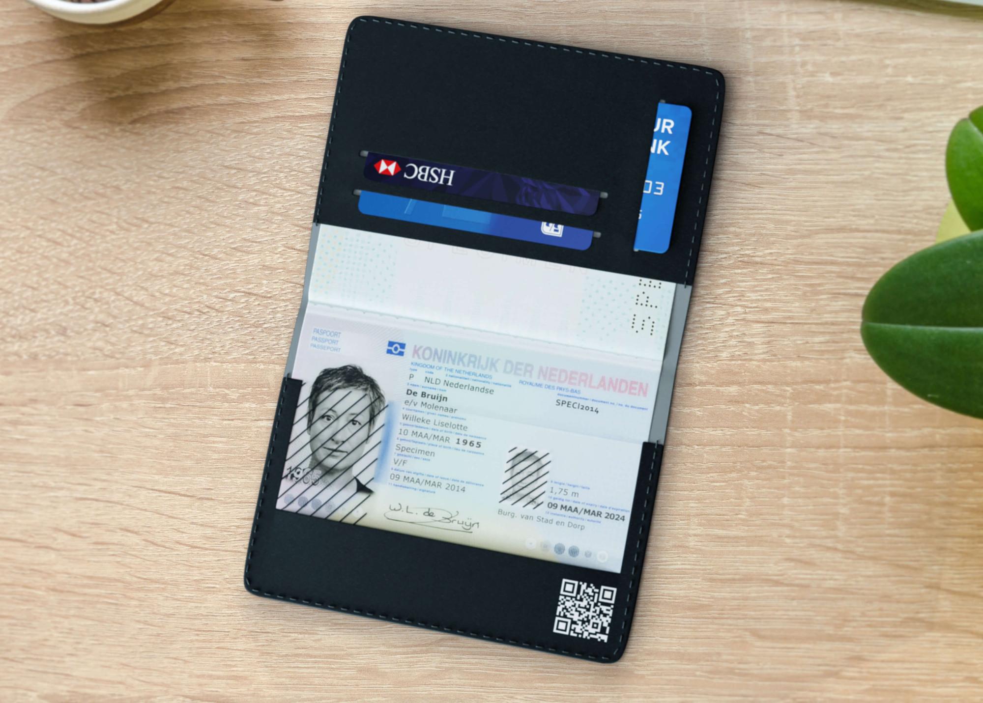 privacy paspoorthoes in gebruik antifruade